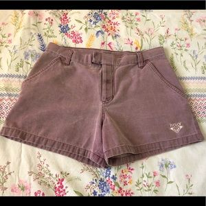 ROXY Light Purple Denim Shorts🌟3 for $24🌟